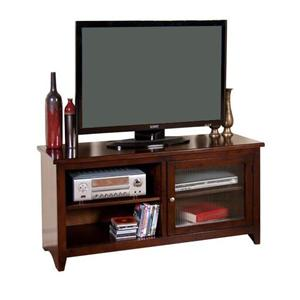 "52"" TV Console with 1 Glass Door"