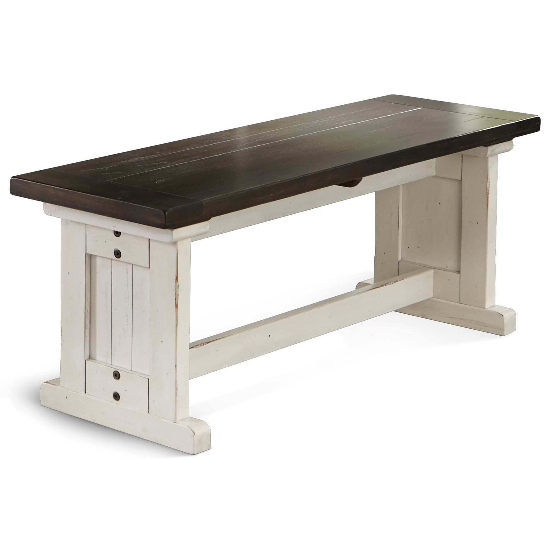 Carriage House Side Bench by Sunny Designs at Sparks HomeStore