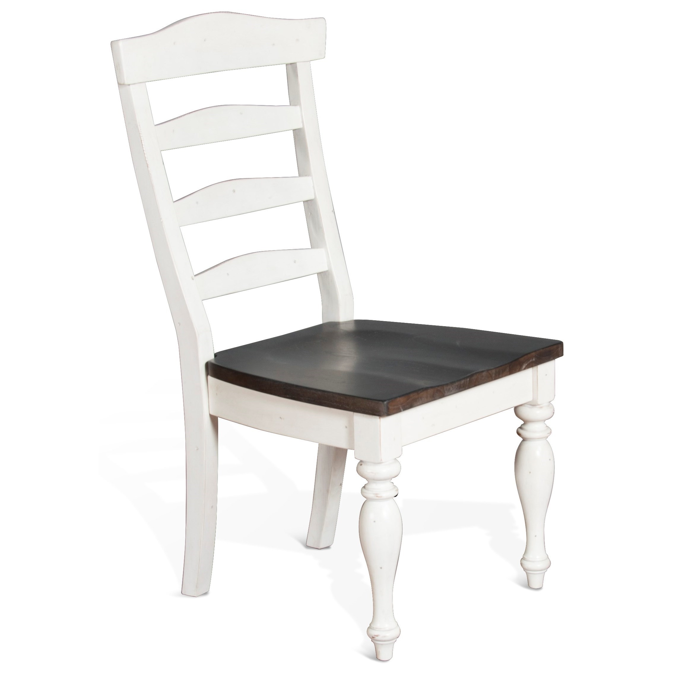 Carriage House Ladderback Chair by Sunny Designs at Stoney Creek Furniture
