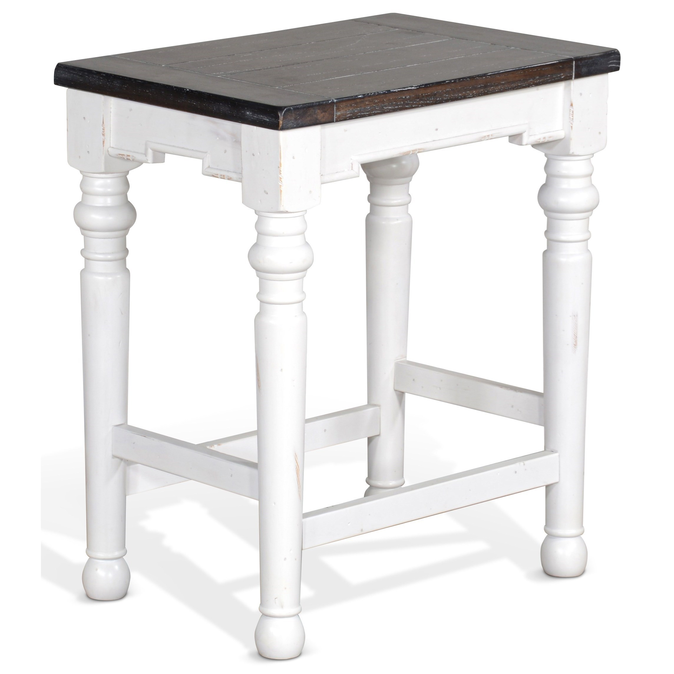 Carriage House Stool by Sunny Designs at Sparks HomeStore