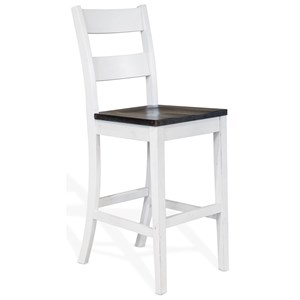 "30"" Ladderback Barstool"