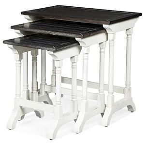Three Piece Nesting Table