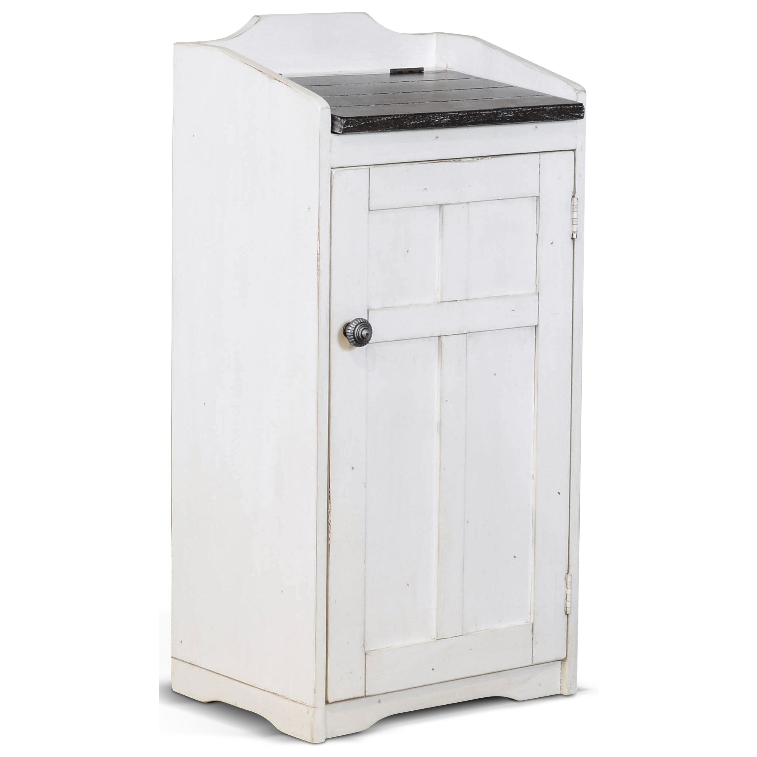 Carriage House Trash Box by Sunny Designs at Suburban Furniture