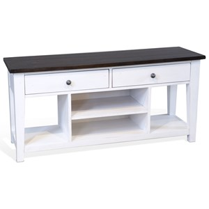 """Cottage Two Tone 54"""" Media Stand"""