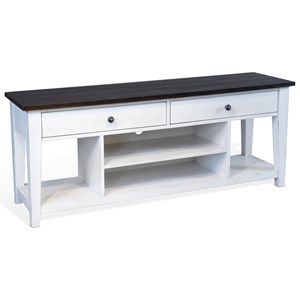 """Cottage Two Tone 64"""" Media Stand"""