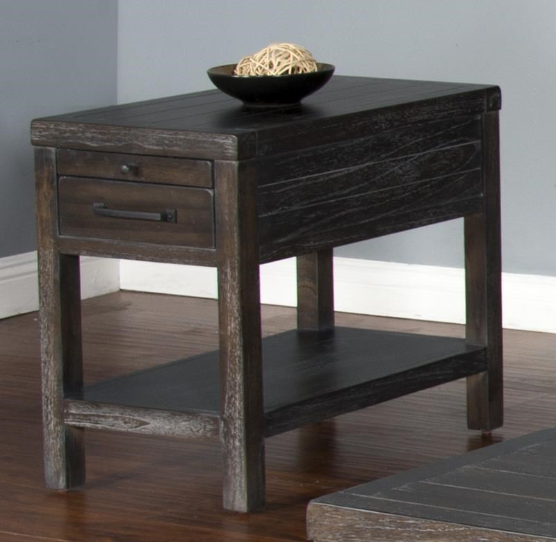 Cornell Cornell Chair Side Table by Sunny Designs at Morris Home