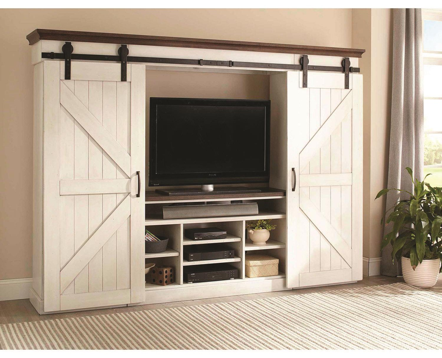 Country View Country View Entertainment Center by Sunny Designs at Morris Home
