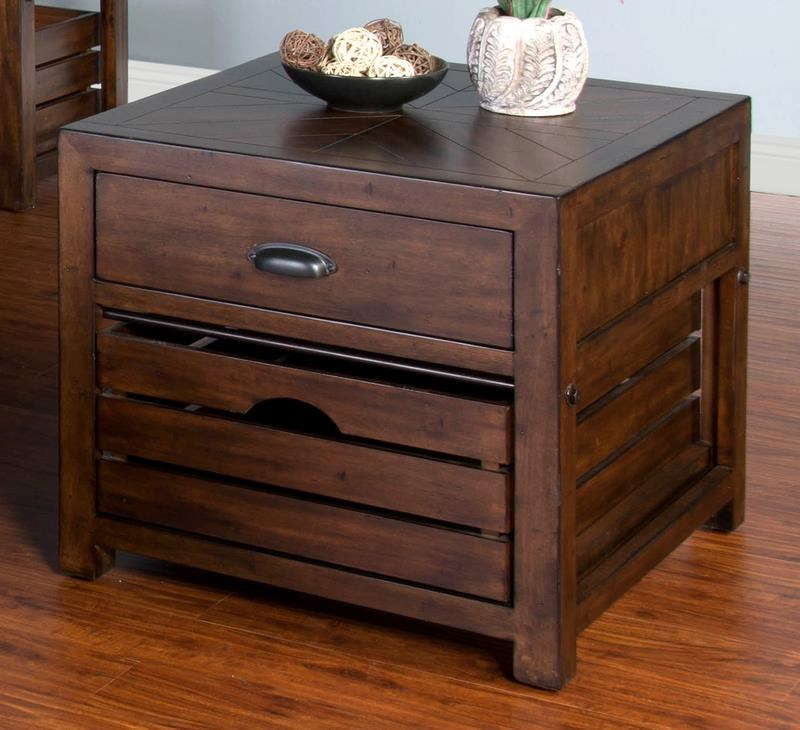 Crestburg Crestburg End Table by Sunny Designs at Morris Home
