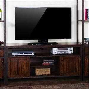 Sunny Designs Crosswinds 60 Inch Television Console