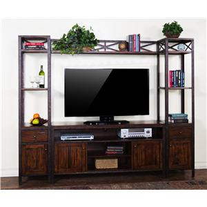 Sunny Designs Crosswinds Entertainment Wall