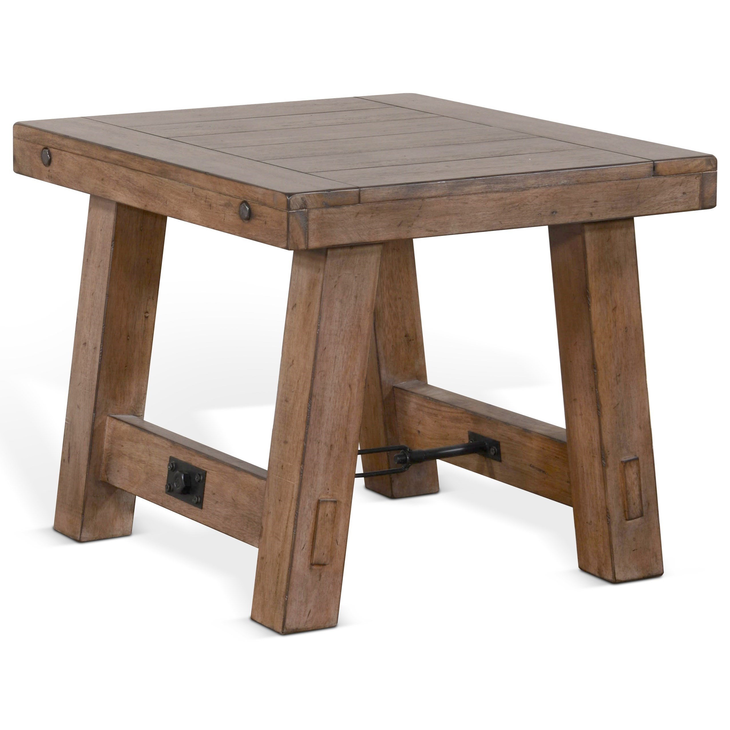 Doe Valley End Table by Sunny Designs at Sparks HomeStore