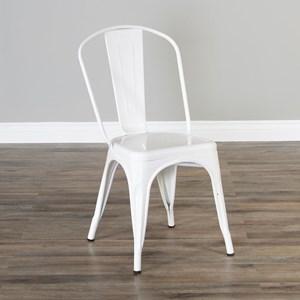 Industrial Windsorback Metal Chair