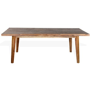 Rustic Rectangular Table with Distressed Finish