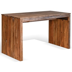 Rustic Desk with Distressed Finish
