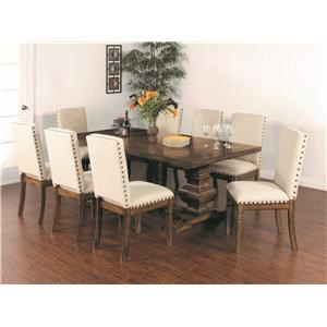 5 Piece Dining Set includes Extendsion Table and 4 Chairs