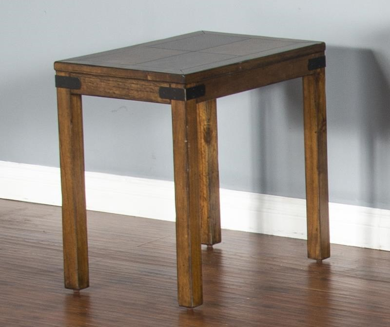 Layton Avenue Layton Avenue Chairside Table by Sunny Designs at Morris Home