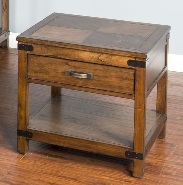 Layton Avenue Layton Avenue End Table by Sunny Designs at Morris Home