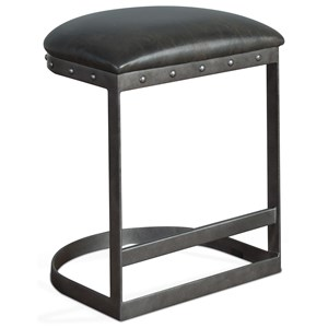 Counter Height Bar Stool with Cushion Seat