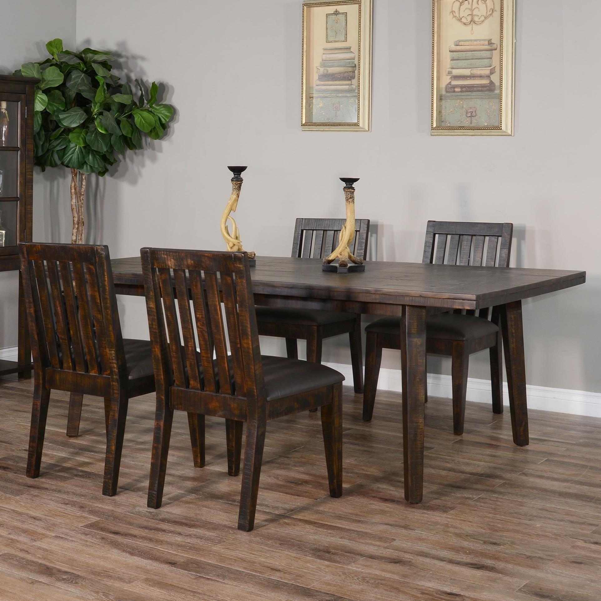 Nassau 5-Piece Table Set at Sadler's Home Furnishings