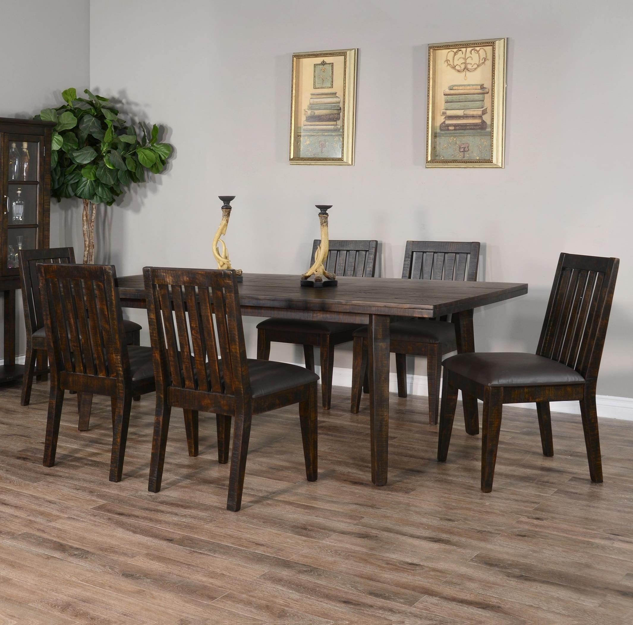 Nassau 7-Piece Table Set by Sunny Designs at Sparks HomeStore