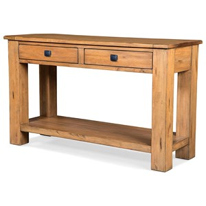 Sofa Table with Lower Shelf