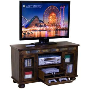 TV Console with Game Drawer