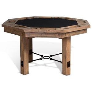 Rustic Game and Dining Table