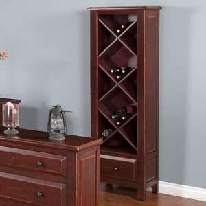 Etagere w/ Wine Storage