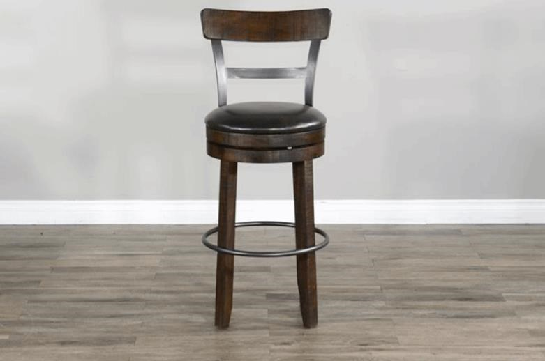 Rosewood Stool at Bennett's Furniture and Mattresses
