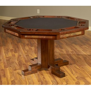 Sunny Designs Santa Fe Game & Dining Table