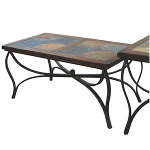 Sunny Designs Santa Fe Slate Top Coffee Table