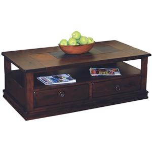 Traditional 2 Drawer Coffee Table