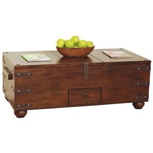 Sunny Designs Santa Fe Storage Coffee Table