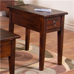 Sunny Designs Santa Fe Santa Fe Chair Side Table