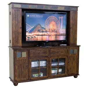 Traditional 72 Inch Wall Unit