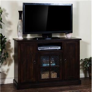 "Distressed Birch 48"" TV Console"