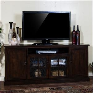 "Distressed Birch 78"" TV Console"