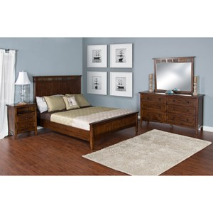 Sunny Designs Santa Fe California King Bedroom Group