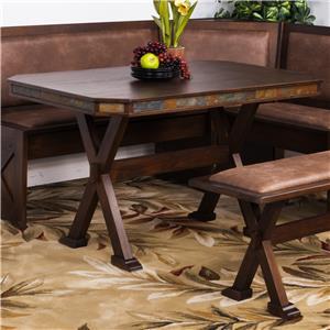 Sunny Designs Savannah Table w/ X-Base