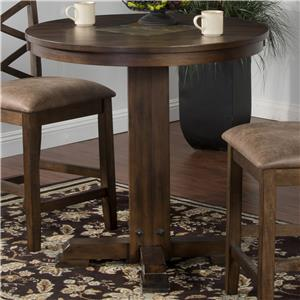 Sunny Designs Savannah Pub Table with Adjustable Height