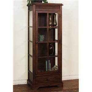 Sunny Designs Savannah Curio Cabinet