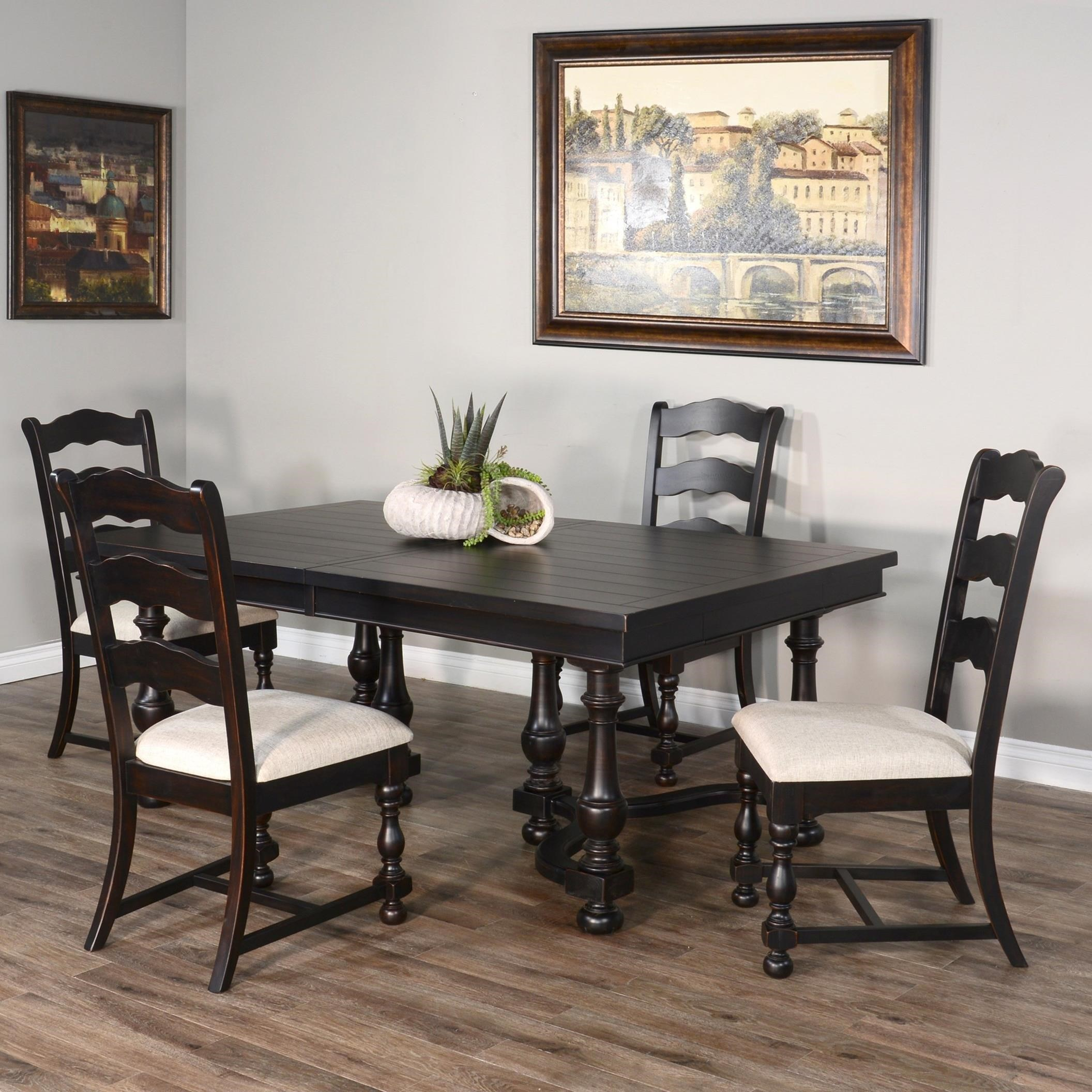 Phoenix Phoenix 5-Piece Dining Set by Sunny Designs at Morris Home