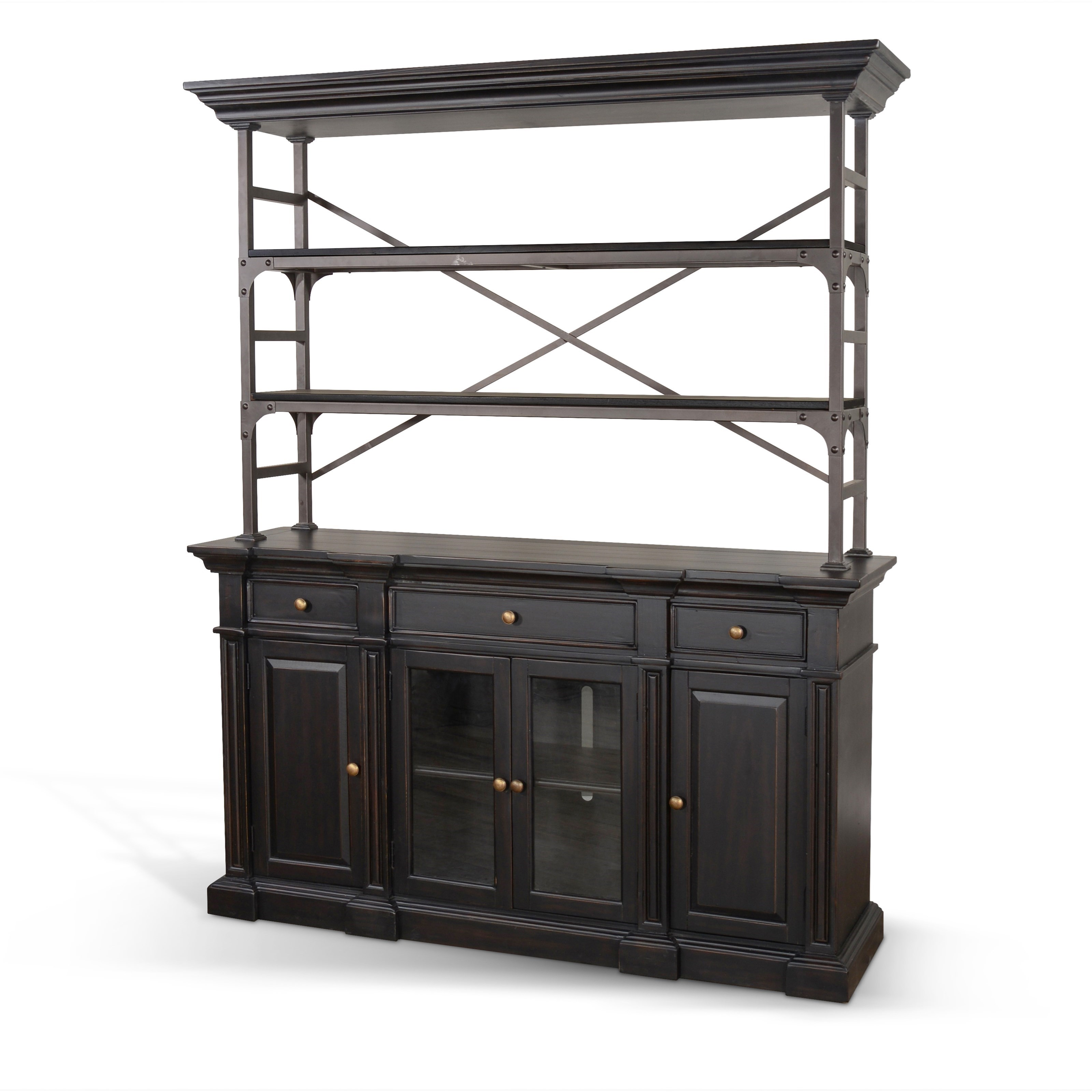 Phoenix Buffet & Hutch  by Sunny Designs at Morris Home