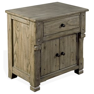 Night Stand with Doors