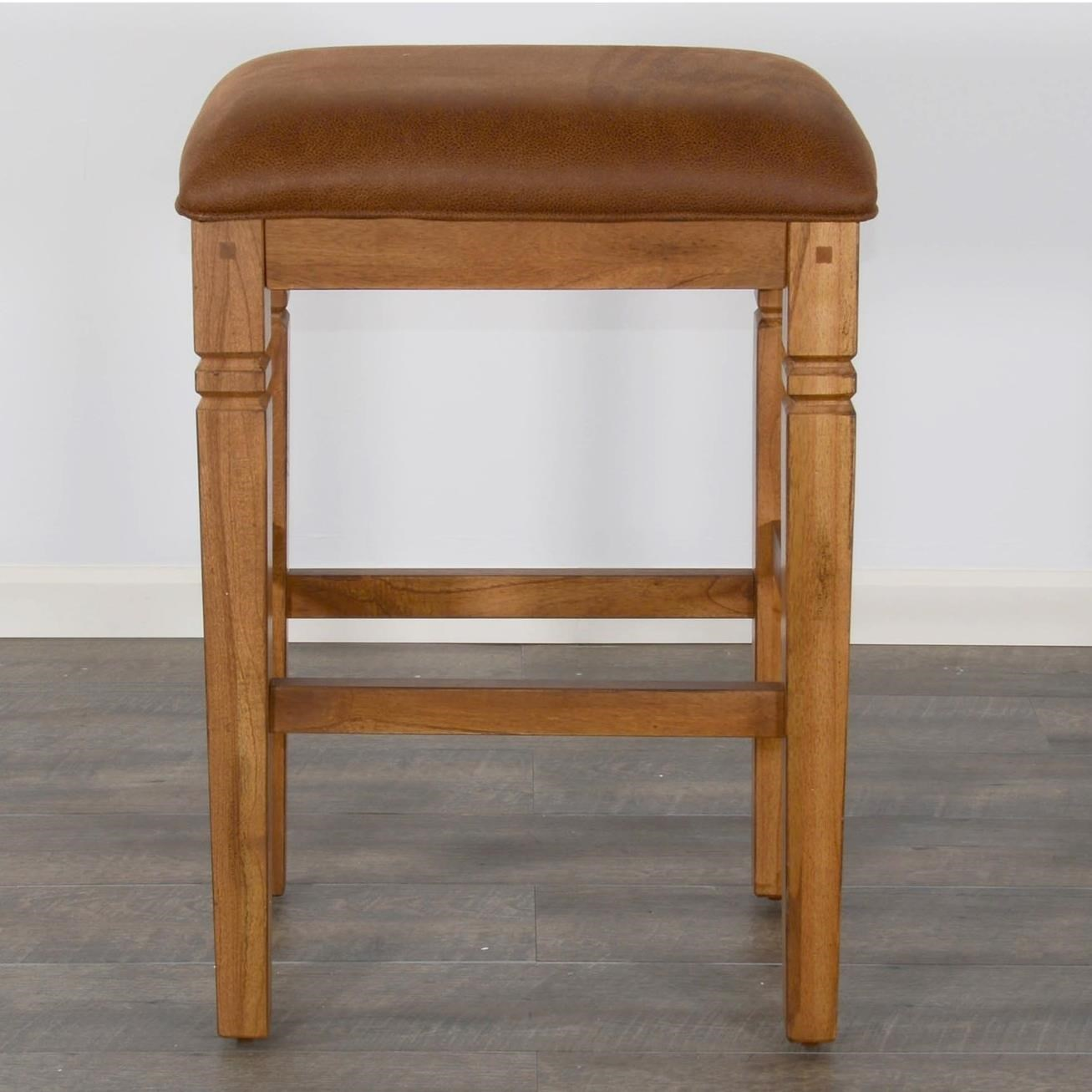 Sedona 2 Backless Stool w/ Cushion Seat by Sunny Designs at Sparks HomeStore