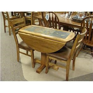 Drop Leaf Table w/ Slate