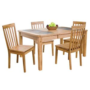 Sunny Designs Sedona 5-Piece Extension Table & Chair Set