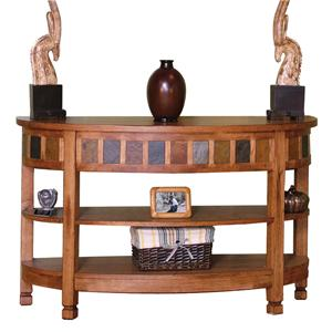 Sunny Designs Sedona Curved Entry/TV Console