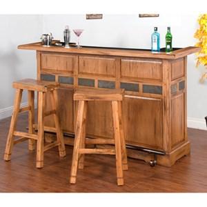 Sunny Designs Sedona 3-Piece Bar Set