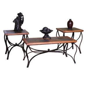 Sunny Designs Sedona 3-Pc Occasional Table Set